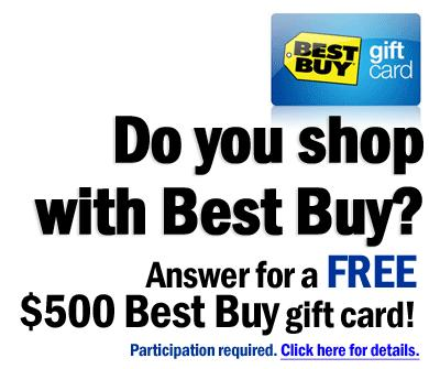 500 Best Buy Gift Card